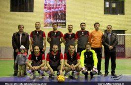 قهرمانی تیم فوتسال دانشگاه آزاد اسلامی واحد اهر در جام شهدای آتشنشان (پلاسکو)