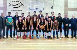 تیم بسکتبال اهر و یاران تبریز در فینال آذربایجان شرقی
