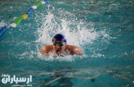 برگزاری مسابقات شنا ویژه دانش آموزان و فرهنگیان به مناسبت هفته معلم در اهر
