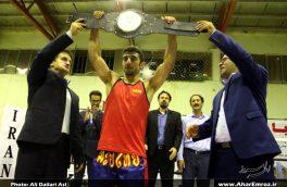 تصویری/ مسابقات قهرمان قهرمانان هالای کشوری (کمربند طلایی) در اهر (۲)