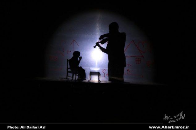 تصویری/ سومین روز جشنواره سراسری تئاتر کوتاه اهر ارسباران