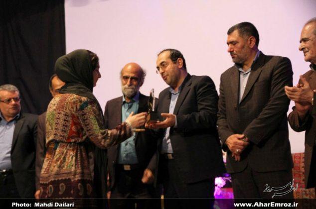 تصویری/ آیین اختتامیه یازدهمین دوره جشنواره سراسری تئاتر کوتاه ارسباران (۲)