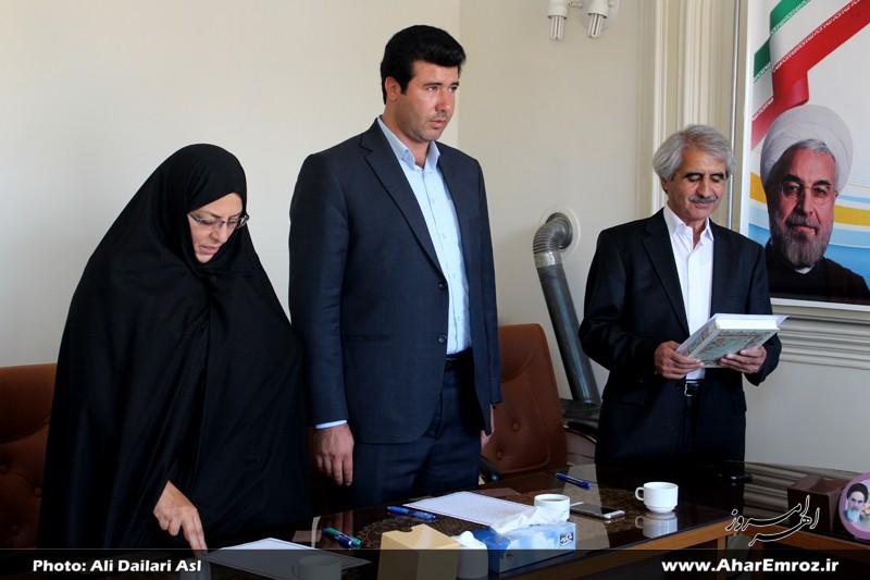 اعضای شورای اسلامی شهر اهر سوگند یاد کردند + تصاویر