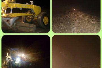 سیل به بخشی از جاده اهر –هوراندخسارت وارد کرد/ راه سه روستای هوراند بسته شد + عکس