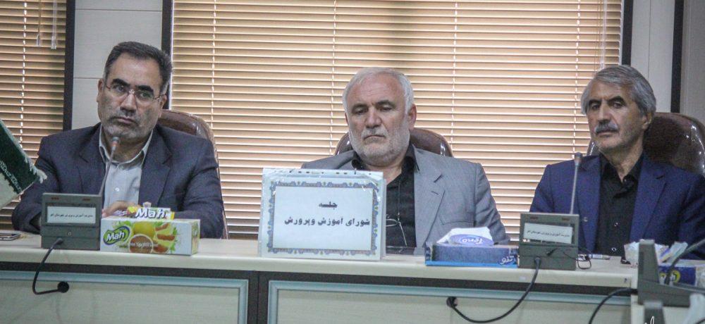 تصویری/ جلسه شورای آموزش و پرورش شهرستان اهر