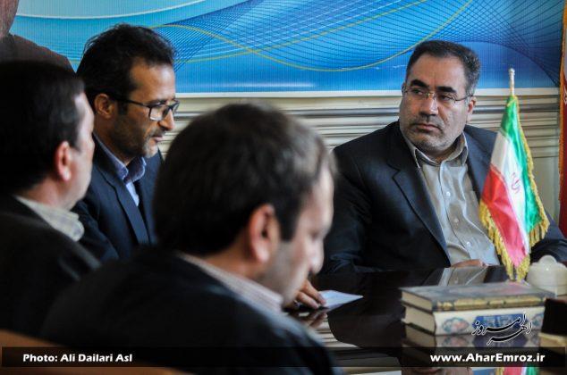 تصویری/ دیدار رؤسای هیئتهای ورزشی با فرماندار شهرستان اهر