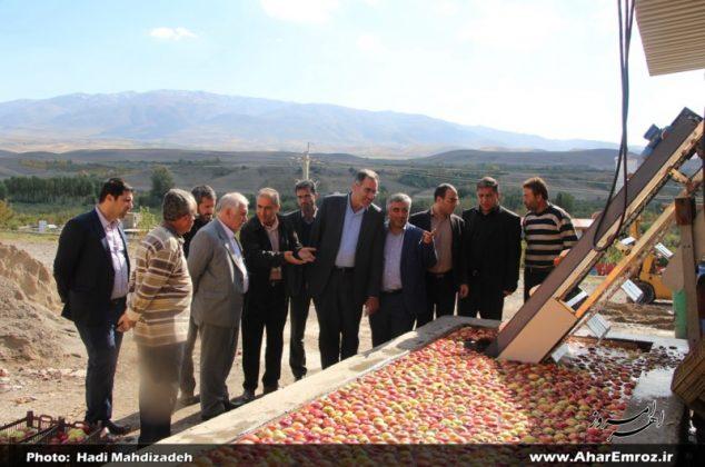 تصویری/ بازدید فرماندار و نماینده اهر از واحدهای تولیدی ناحیه صنعتی ۲۷ خرداد