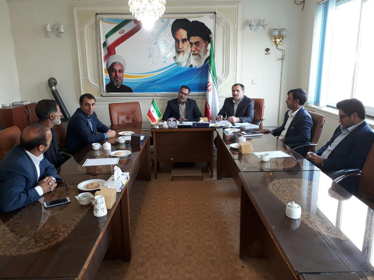 انتخابات هیئترئیسه شورای اسلامی شهرستان اهر برگزار شد/ بهبود سعادتی رئیس شد