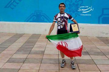 ورزشکار اهری مدال برنز مسابقات کاپ آزاد آذربایجان را کسب کرد