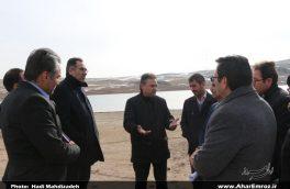 تصویری/ بازدید فرماندار شهرستان اهر از سد آزادگان
