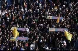 پیکر مطهر ۱۱ شهید گمنام در آذربایجان شرقی تشییع میشود