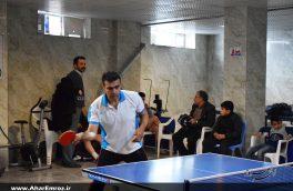 مسابقات آزاد شهرستانی تنیس روی میز در اهر برگزار شد