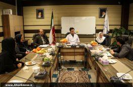 تصویری/ نشست خبری مسئولان بیمارستان باقرالعلوم اهر با خبرنگاران