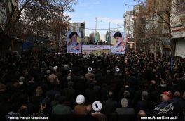 تصویری/ راهپیمایی یوم الله ۲۲ بهمن در شهرستان اهر