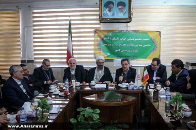 تصویری/ نشست خبری رئیس سازمان بهزیستی کشور در اهر