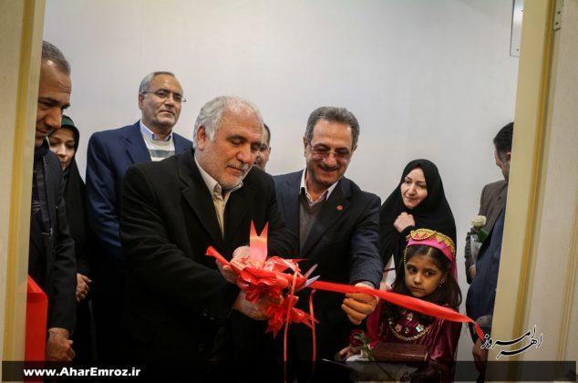 تصویری/ افتتاح مسکن مددجویان بهزیستی در اهر با حضور رئیس سازمان بهزیستی کشور