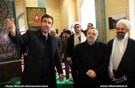تصویری/ حضور دکتر جوانپور در دانشگاه آزاد اسلامی واحد اهر و افتتاح پروژه تولیدی عمرانی