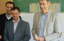 بازدید از مدرسه ساوالان روستای کردلر و مدرسه مردانی آذر