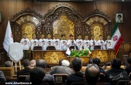 تصویری/ ویژه برنامه بزرگداشت هفته هنر انقلاب اسلامی در آذربایجان شرقی