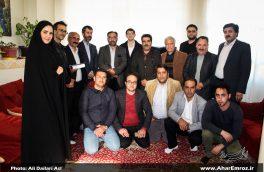 تصویری/ دیدار با هنرمندان پیشکسوت بمناسبت هفته هنر انقلاب اسلامی