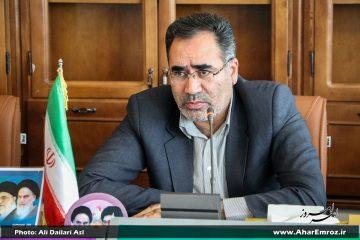 شعار حمایت از کالای ایرانی در ادامه اقتصاد مقاومتی است/ اعتبارات روستاهای فاقد دهیاری اهر و هوراند تفکیک شود
