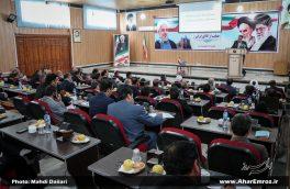 تصویری/ اولین جلسه شورای اداری شهرستان اهر در سال ۹۷