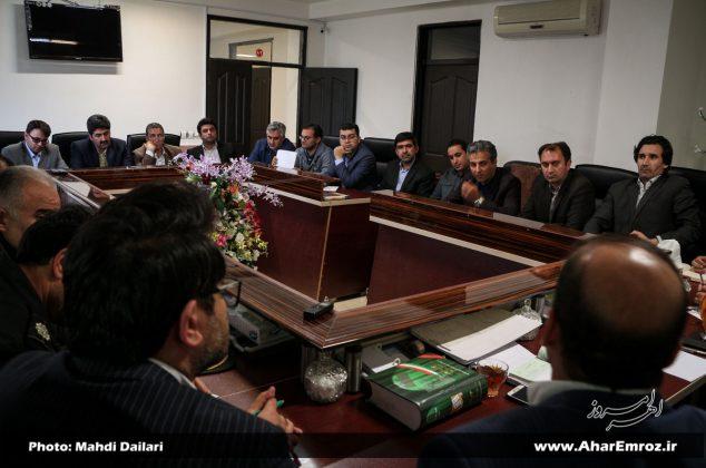 تصویری/ اولین جلسه کمیسیون مشارکت و سرمایهگذاری شورای اسلامی شهر اهر در سال ۹۷