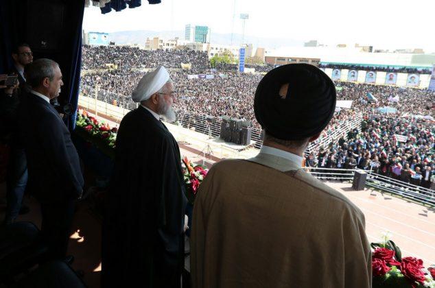 تصویری/ سفر دکتر روحانی به استان آذربایجان شرقی به روایت تصاویر