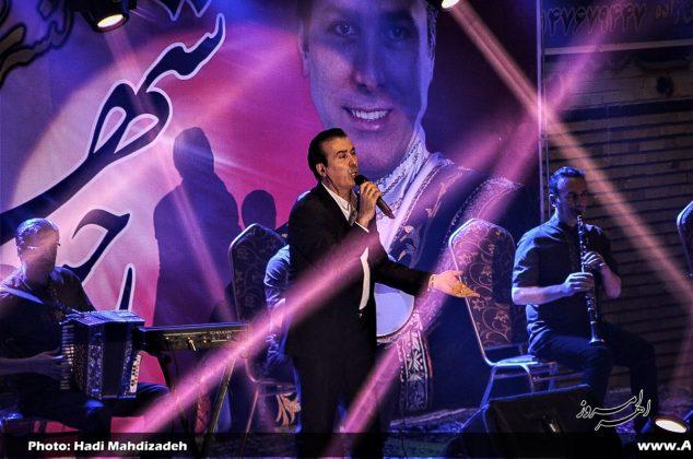 تصویری/ کنسرت رحیم شهریاری در حمایت از بیماران دیابتی در اهر
