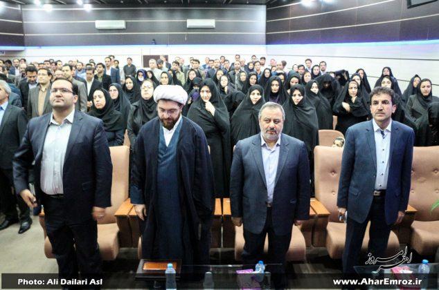 تصویری/ آیین تودیع و معارفه رئیس جدید دانشگاه آزاد اسلامی واحد اهر