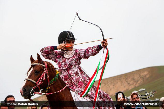 تصویری/ بیست و پنجمین جشنواره فرهنگی ورزشی عشایر قره قیه (هارنا) شهرستان کلیبر