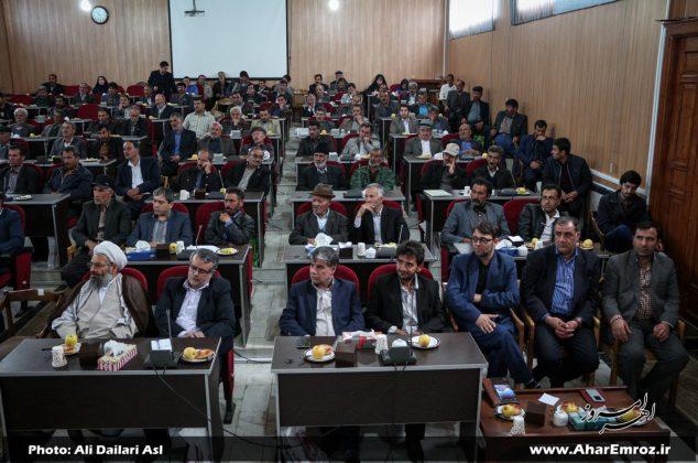 تصویری/ جلسه مشترک رؤسای شوراهای اسلامی روستاهای بخش مرکزی با مسئولان شهرستان اهر