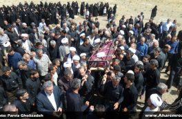 تصویری/ مراسم تشییع و تدفین حجت الاسلام علی حسنی امام جماعت مسجد جامع شهرستان هوراند