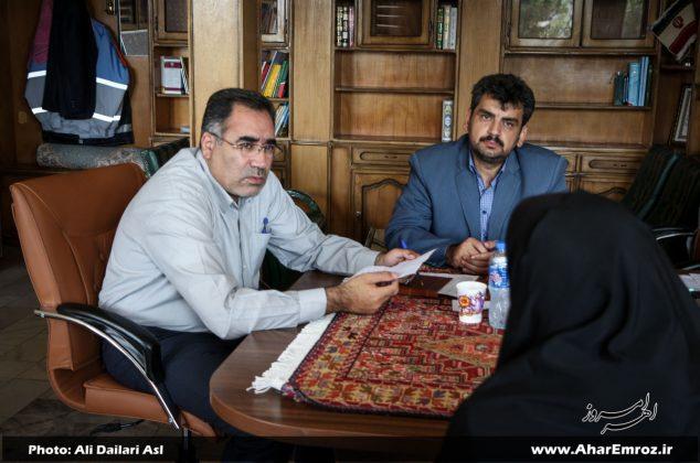 تصویری/ دیدار عمومی فرماندار شهرستان اهر با مردم (۲۴ مرداد ماه ۱۳۹۷)