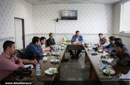 تصویری/ نشست خبری رئیس اداره ورزش و جوانان شهرستان اهر با خبرنگاران