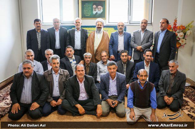 تصویری/  دیدار آزادگان با نماینده ولیفقیه و امامجمعه شهرستان اهر