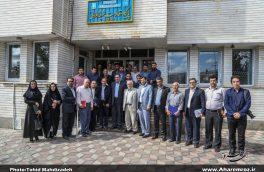 تصویری/ نشست صمیمی اهالی خبر و مطبوعات با مسئولان ارشد شهرستان اهر