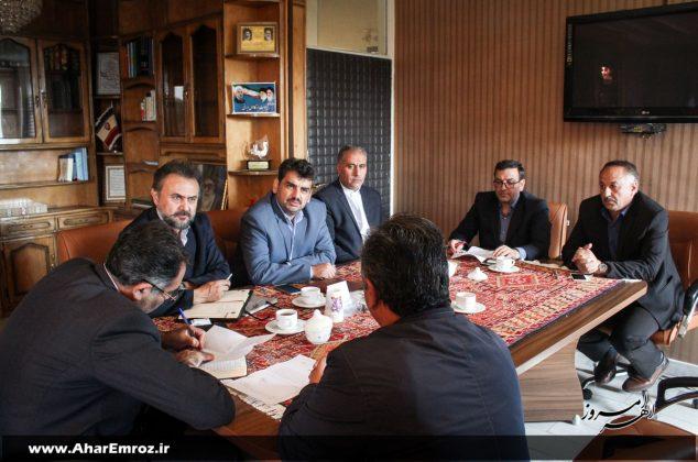 تصویری/ دیدار عمومی فرماندار شهرستان اهر با مردم (۲ آبان ماه ۱۳۹۷)