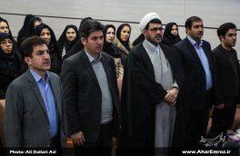 تصویری/ آیین تودیع و معارفه رئیس دانشگاه آزاد اسلامی واحد اهر