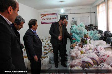 توزیع ۱۳۰ بسته غذایی بین خانوادههای تحت پوشش انجمن حمایت از زندانیان اهر/ آزادی ۴ زندانی جرائم غیر عمد در آستانه سال ۹۸ با کمک خیرین