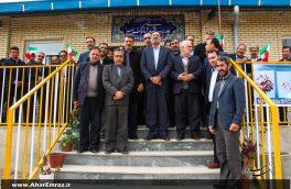 تصویری/ مراسم افتتاحیه مدرسه شش کلاسه خیرساز روستای افیل اهر