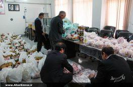 تصویری/ توزیع سبد کالا بین خانوادههای تحت پوشش انجمن حمایت از زندانیان اهر