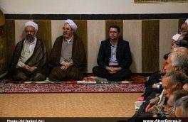 تصویری/ دیدار مسئولان قضایی با امام جمعه اهر به مناسبت هفته قوه قضاییه