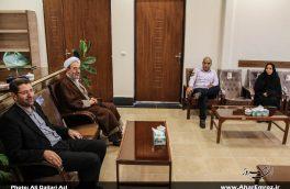 تصویری/ دیدار فرماندهان انتظامی و مدیران ادارات با رئیس دادگستری و دادستان اهر