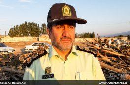 ۴ نفر در ارتباط با آتشسوزی جنگلهای قرهداغ دستگیر شدند