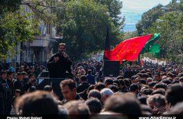 تصویری/ عزاداری اربعین حسینی در شهرستان اهر