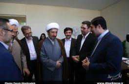 تصویری/ سفر یکروزه رئیس مرکز حفاظت و اطلاعات کل قوه قضاییه به شهرستان اهر