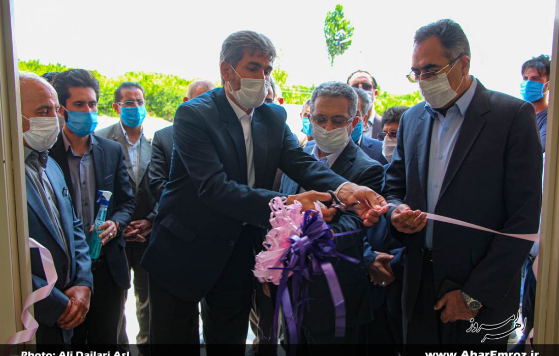 تصویری/ افتتاح پروژههای عمرانی شبکه بهداشت و درمان اهر