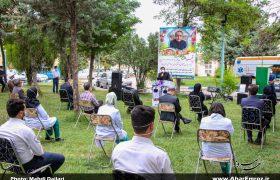 تصویری/ مراسم بزرگداشت شهید مدافع سلامت دکتر مهران عبدالهی نامی در اهر