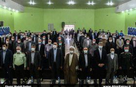 تصویری/ مراسم تودیع و معارفه فرمانداران جدید و سابق شهرستان اهر